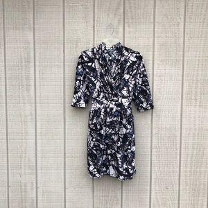 Catherine Malandrino geometric tie sheath dress, 4